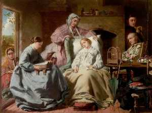 William Powell Frith - Le Malade