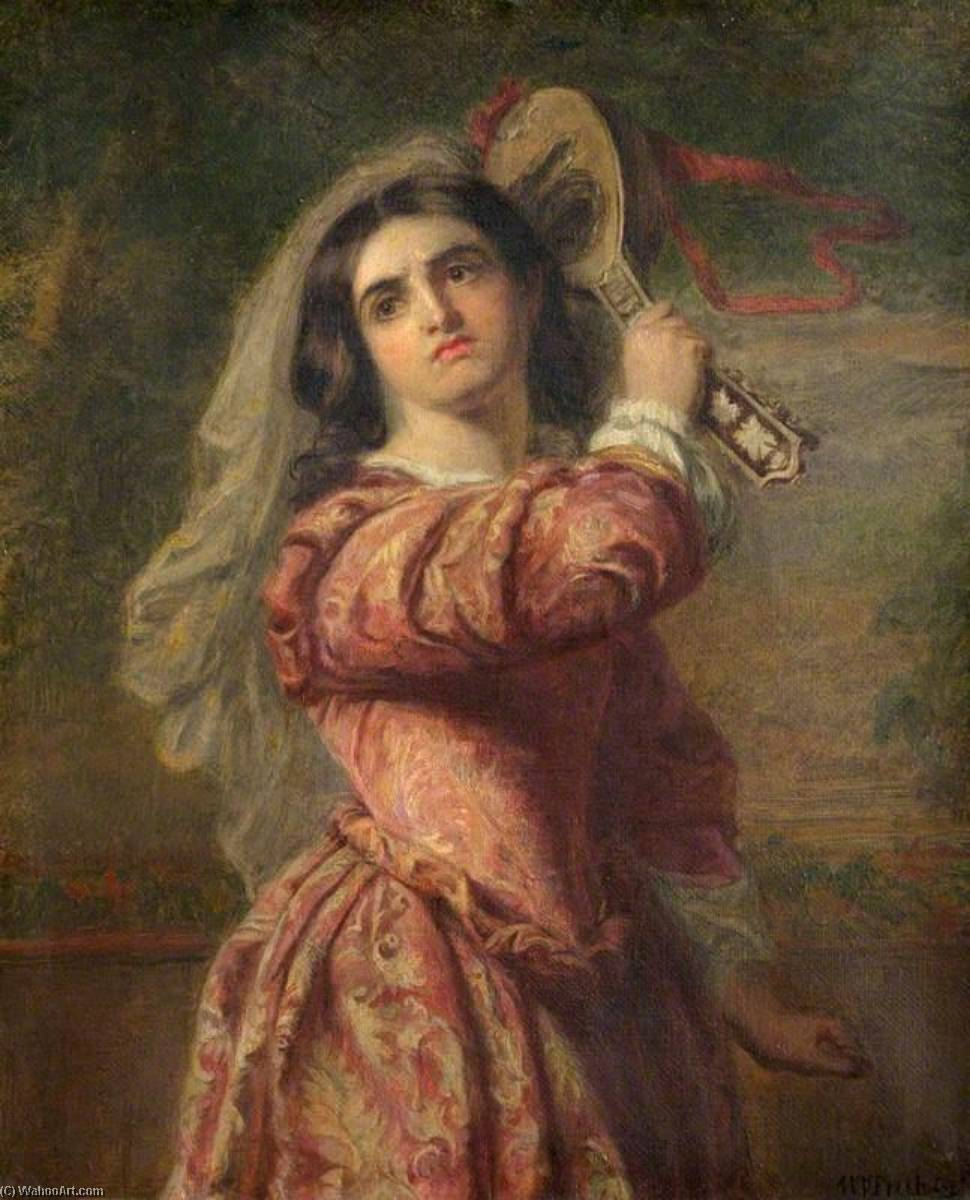 Achat Reproductions D'art Sur Toile : Katharina de William Powell Frith (1819-1909, United Kingdom) | WahooArt.com