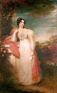 William Beechey - Elizabeth , lady buxton , née Cholmeley