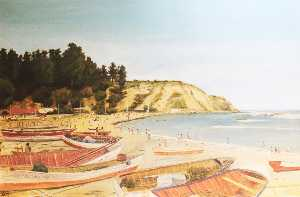 Eugenio Cruz Vargas - playa de horcon