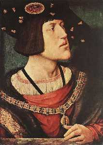 Bernaert Van Orley - portrait de charles v , empereur romain germanique ( 1500 1558 )