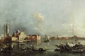 Francesco Lazzaro Guardi - Vue de Venise