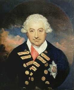 William Beechey - contre-amiral Monsieur john jervis ( 1735–1823 ) , comte de saint-vincent