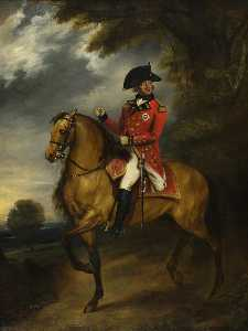 William Beechey - george iii ( 1738–1820 ) , à cheval