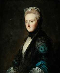 Allan Ramsay - l'honorable mme clarges ( fille de le 1st Vicomte Barrington )