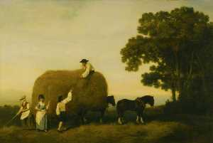 George Stubbs - Les Haymakers