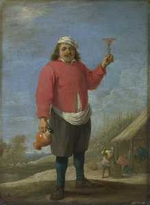 David The Younger Teniers - automne