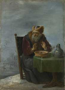 David The Younger Teniers - hiver