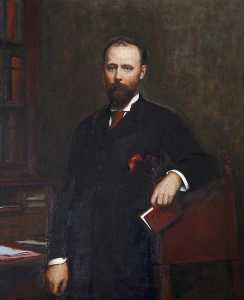 Walter William Ouless - thomas charles reginald Gélose Robartes ( 1844–1930 ) , 2nd lord robartes et 6th Vicomte Clifden