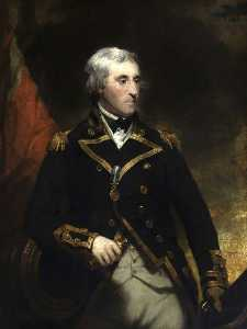 Martin Archer Shee - Le vice Amiral Monsieur william george fairfax ( 1739–1813 )