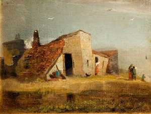 William Mulready The Younger - Chalets sur  au  côte