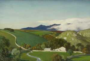 Charles John Holmes - clarification des brumes , Ribblesdale