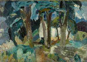 William George Gillies - Paysage , Longniddry