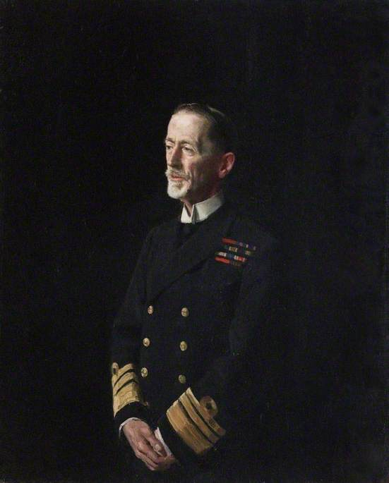 Le vice Amiral Monsieur william c . Pakenham ( 1861–1933 ) , KCB , KCMG , KCVO, huile sur toile de William Newzam Prior Nicholson (1872-1949, United Kingdom)