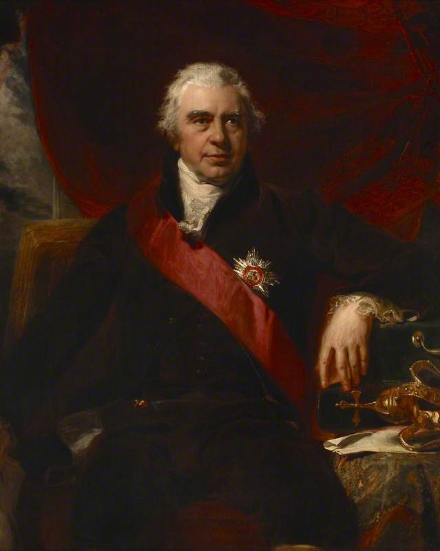 Monsieur De joseph Banques ( 1743–1820 ) , Président de royal Société , Curateur de l musée anglais, 1795 de Thomas Lawrence (1769-1830, United Kingdom) | Reproductions D'art De Musée Thomas Lawrence | WahooArt.com