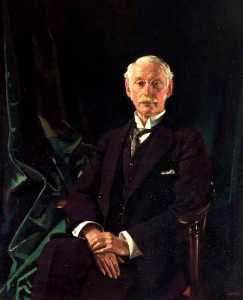 William Newenham Montague Orpen - Monsieur charles algernon parsons ( 1854–1931 )