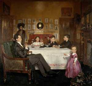 William Newenham Montague Orpen - Une Bloomsbury Famille