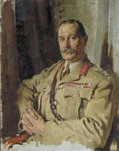 William Newenham Montague Orpen - lieutenant-général sir travers clarke , KCMG , CB , Intendant Générales , France , Décembre 1917