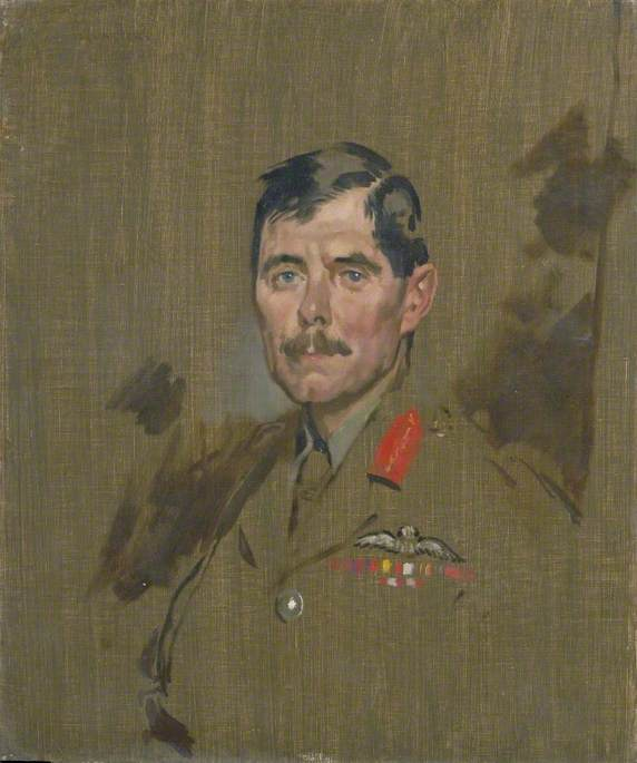 major général hugh m . Trenchard ( 1873–1956 ) , CB , DSO , Royaux flying corps, 1917 de William Newenham Montague Orpen (1878-1931, Ireland) | Reproductions De Qualité Musée | WahooArt.com