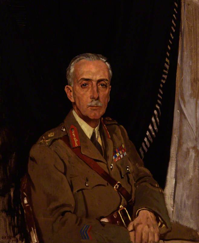 charles sackville Ouest , 4th baron sackville, 1919 de William Newenham Montague Orpen (1878-1931, Ireland) | WahooArt.com