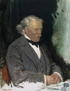 William Newenham Montague Orpen - david lloyd george ( 1863–1945 )