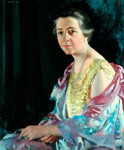 William Newenham Montague Orpen - mme thomas Howarth