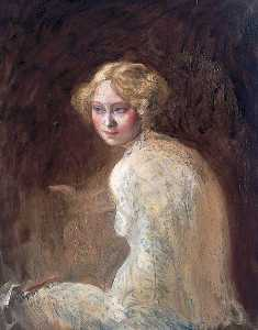 William Newenham Montague Orpen - chef d'un fille