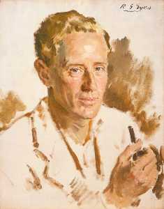 Reginald Grenville Eves - leslie howard ( 1893–1943 ) ( croquis )