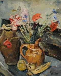 Ronald Ossory Dunlop - les coquelicots