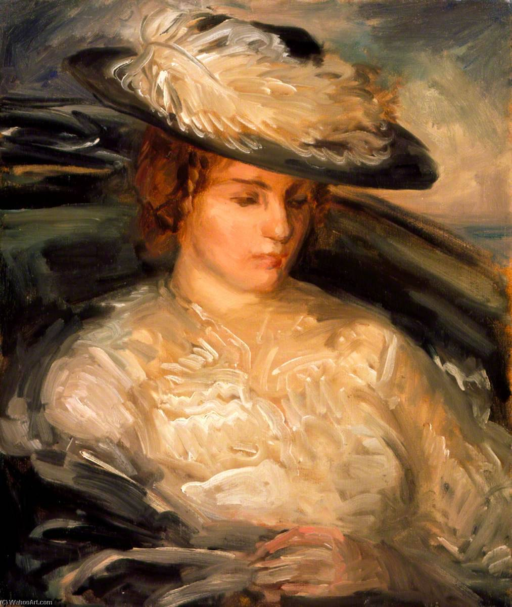 Convalescent, 1898 de Philip Wilson Steer (1860-1942, United Kingdom) | Reproductions D'art Philip Wilson Steer | WahooArt.com