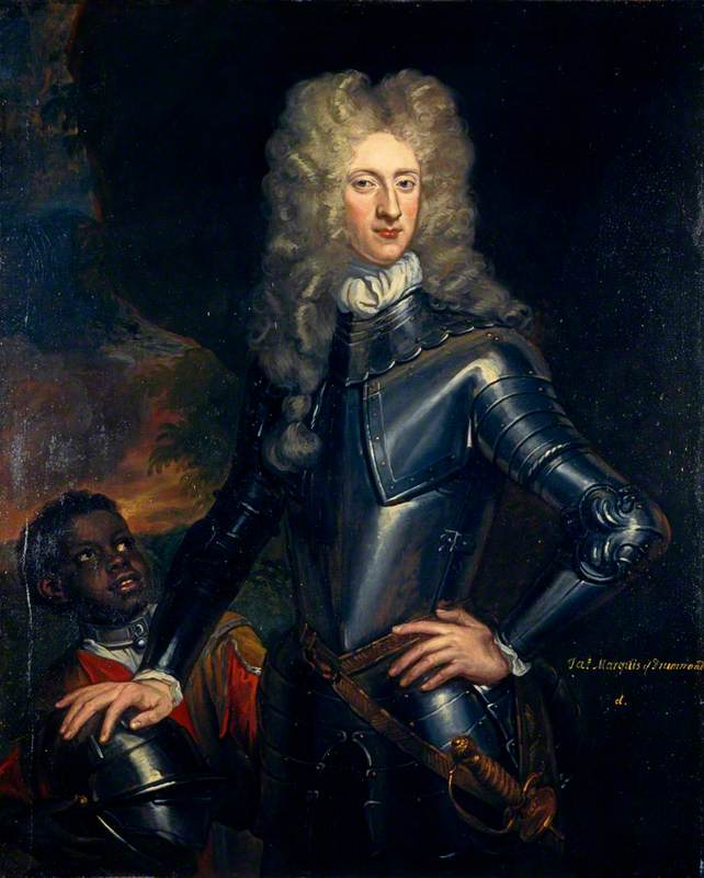 james drummond ( 1673–1720 ) , 2nd Titulaire Duc de Perth , Jacobite, 1700 de John Baptist De Medina | Reproduction Peinture | WahooArt.com