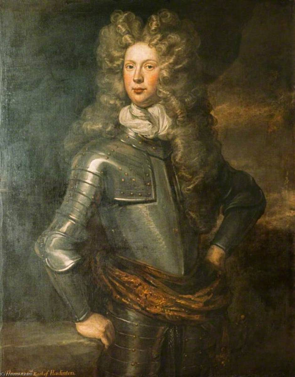 thomas hamilton ( 1680–1735 ) , 6th Comte de Haddington , Supporter de l'union de John Baptist De Medina | WahooArt.com