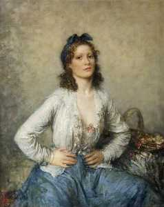 Walter Westley Russell - le fleur fille