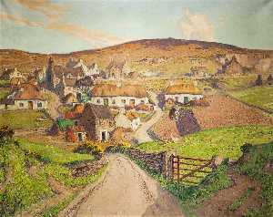 William Hoggatt - l'ancien Village de Cregneash