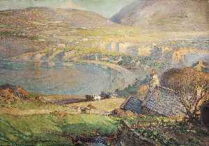 William Hoggatt - Voir à travers port erin Baie