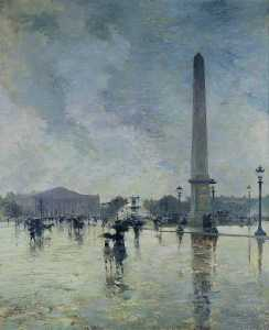 Smith Alfred - L-Averse ( Place de la Concorde )
