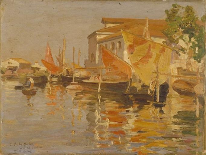 Bord de Rivière de Smith Alfred (1853-1936, France) | Reproductions D'art Smith Alfred | WahooArt.com