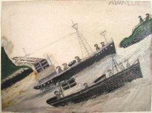 Alfred Wallis - rugueux mer