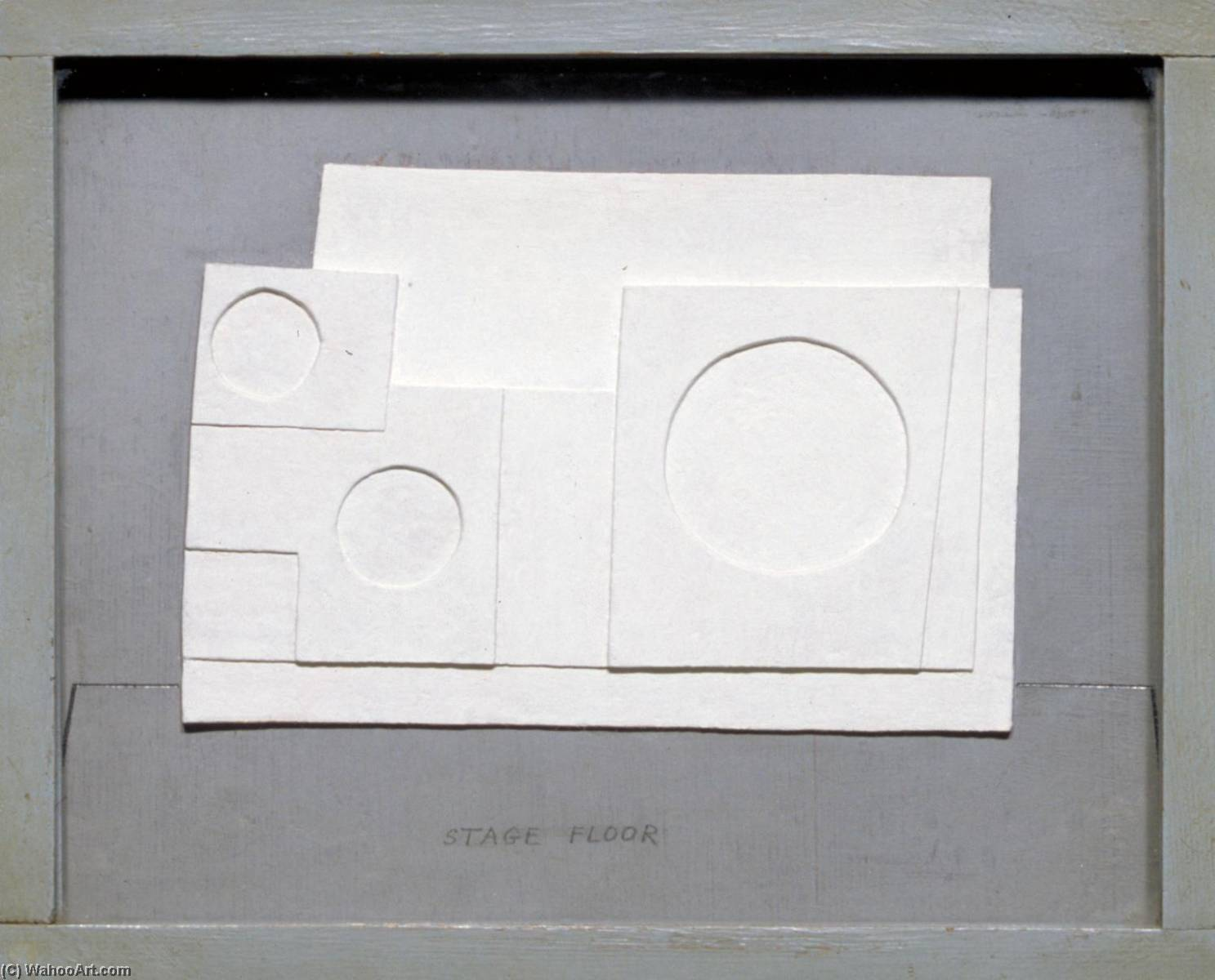 1934 projet massine pour beethoven 7th balle symphonique, Graphite de Ben Nicholson (1894-1982, United Kingdom)