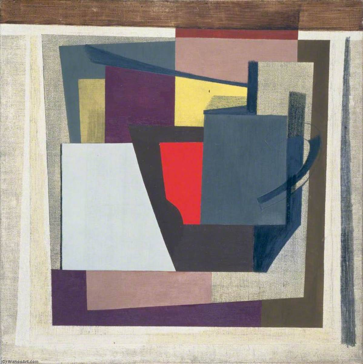 1946 ( composition , vie encore ), 1946 de Ben Nicholson (1894-1982, United Kingdom) | WahooArt.com
