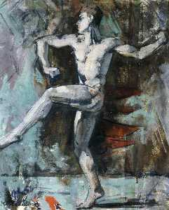 Francis Campbell Boileau Cadell - Danseuse