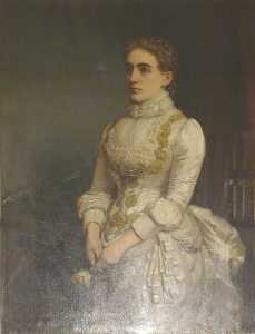 Ernest Gustave Girardot - lady eleanor rollit ( ré . 1886 )