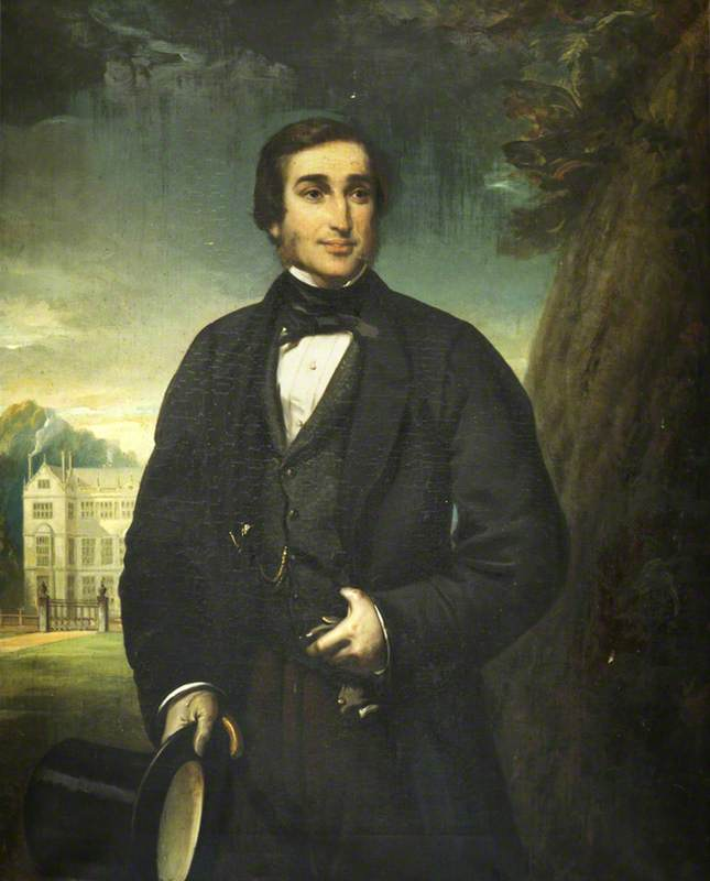 william phelips iv ( 1823–1889 ), 1858 de Thomas Musgrave Joy (1812-1866, United Kingdom) | Reproductions De Qualité Musée Thomas Musgrave Joy | WahooArt.com