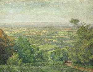 Maxwell Gordon Lightfoot - Paysage , Abergavenny