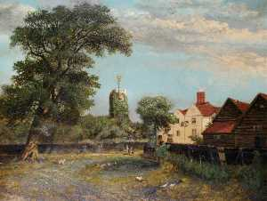 Charles Smith - Hendon Église issus Dunlop's Terrain