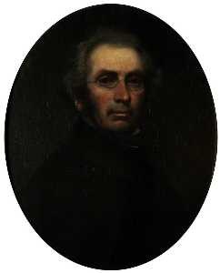 John Kelso Hunter - autoportrait