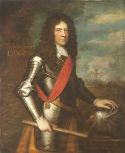Richard Phillips - Monsieur john bennet ( 1616–1695 ) , lord ossulston ( copie d'après un inconnu artiste )