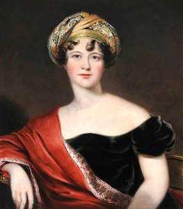 Thomas Barber - lady harriet cavendish , la comtesse granville