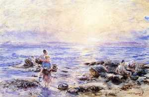 William Mctaggart - dans le rocher  piscines