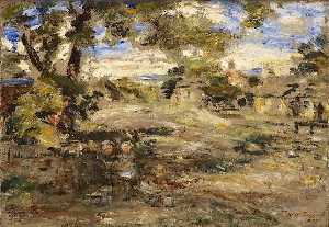 William Mctaggart - paysage croquis , Howgate